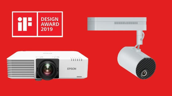 Epson projectors win two iF DESIGN AWARDS 2019
