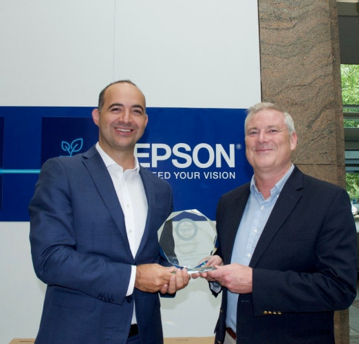 Epson recebe prémio de sustentabilidade pela Keypoint Intelligence PaceSetter