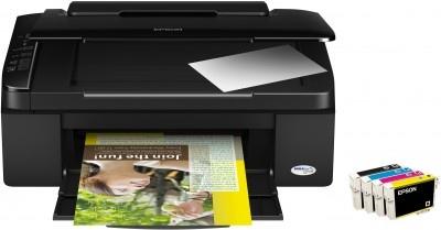 Epson Stylus SX110 – ekonomiczna, kompaktowa drukarka z funkcjami skanowania i kopiowania
