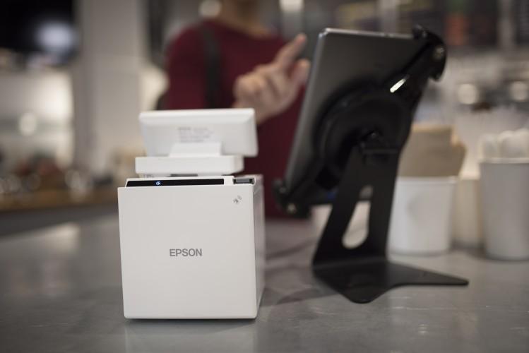 TM-m30: Epson's gateway to tablet POS printing