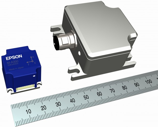 Epson Sensoren für vibrationsfreie Roboterfahrten