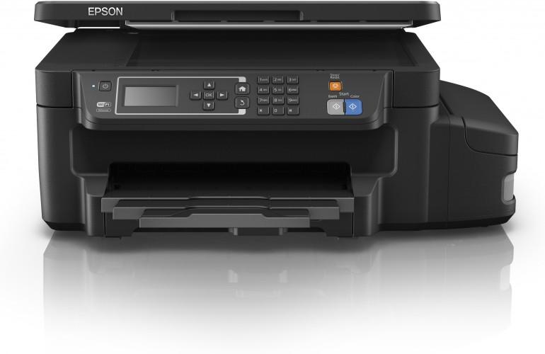 Epson introduceert de ET-3600 en voegt dubbelzijdig afdrukken toe aan zijn 3-in-1 printer zonder inktpatronen
