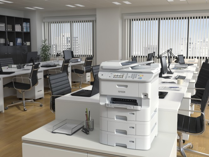 Impressoras jacto de tinta produzem menos 94%  de resíduos e consomem menos 96% de energia