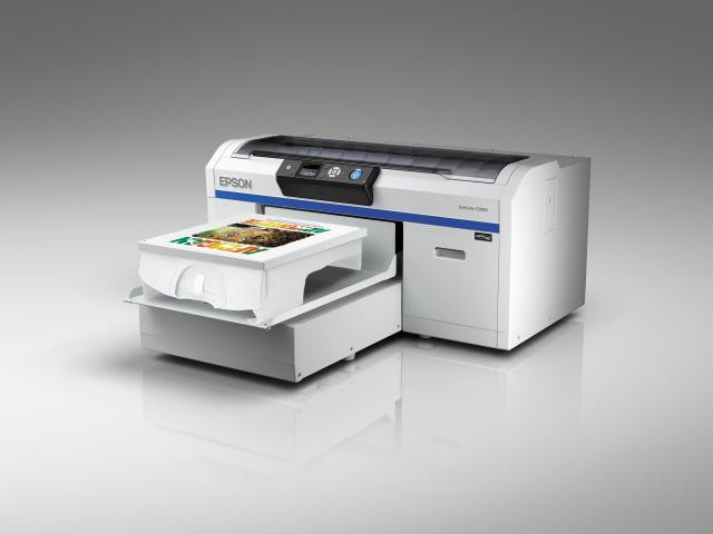Epson SureColor printers show direct to garment, dye sub, signage and POS versatility at Sign & Digital UK