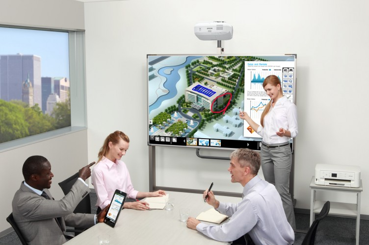 How is interactive technology changing the workplace?