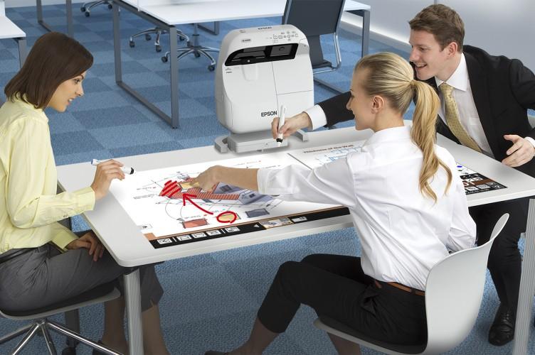 So verändert interaktive Technologie den Arbeitsplatz von morgen