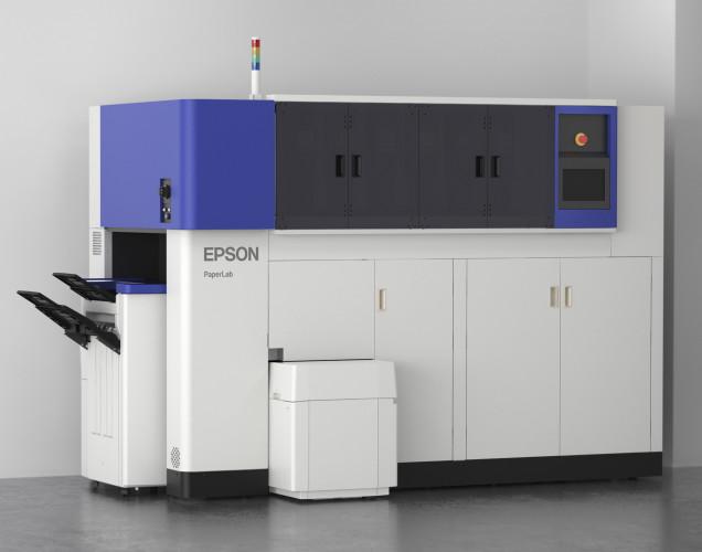 Umweltschutz und Büro: PaperLab von Epson wandelt Altpapier in neues Papier um