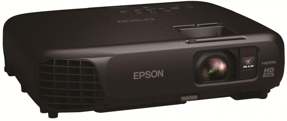 Mobiler Epson HD-Ready-Projektor bietet Kinofeeling