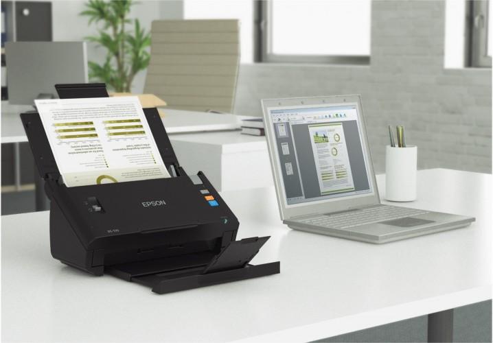 DMS EXPO 2013: Neuer Epson Dokumentenscanner
