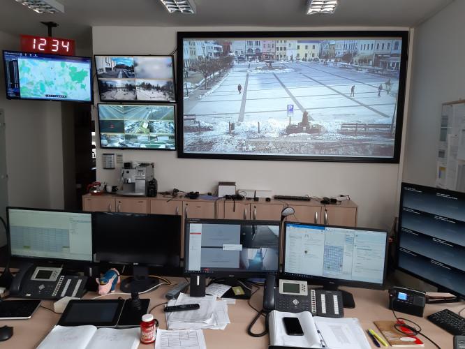 Bezpečnost Karviné strážníci ohlídají díky projektoru Epsonu