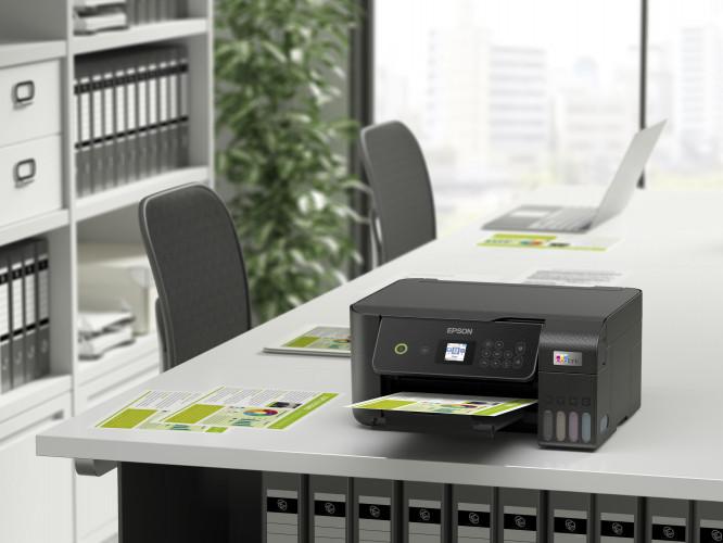 Spoločnosť Epson aktualizuje svoj rad oceňovaných tlačiarní EcoTank pre domácnosti a malé kancelárie