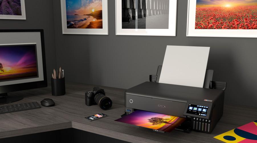 Epson on tuonut markkinoille kaksi uutta kuuden värin EcoTank-valokuvatulostinta