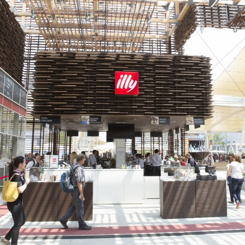 illy spills the beans on coffee culture with Moverio