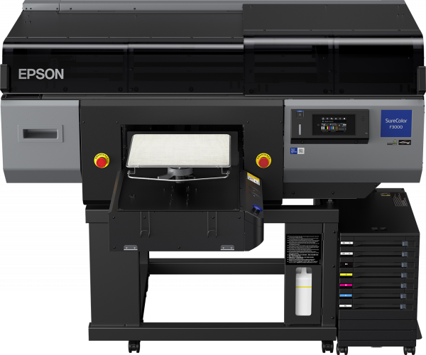Epson UltraChrome DG- und reaktive Genesta-Tinten GOTS anerkannt