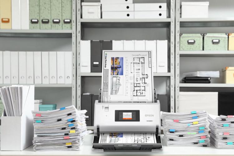 Epson expande soluções para digitalização de documentos com novos scanners de documentos A3