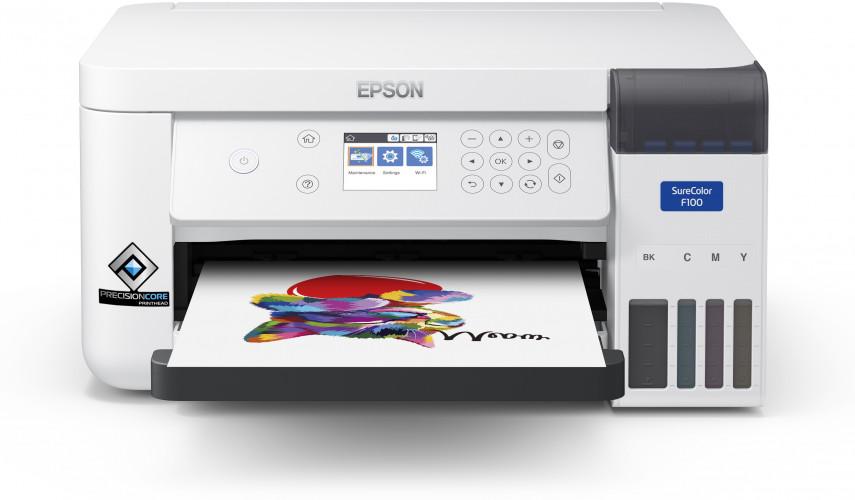 Firma Epson przedstawia swoją pierwszą drukarkę sublimacyjną formatu A4 — SureColor SC-F100