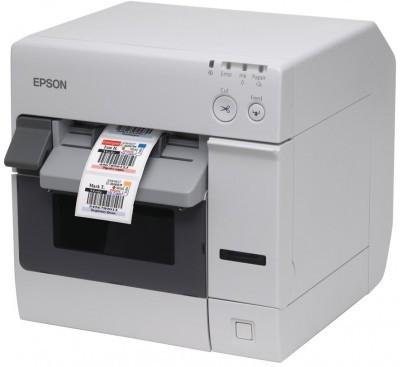 Szybka, wielofunkcyjna drukarka etykiet kolorowych Epson TM-C3400