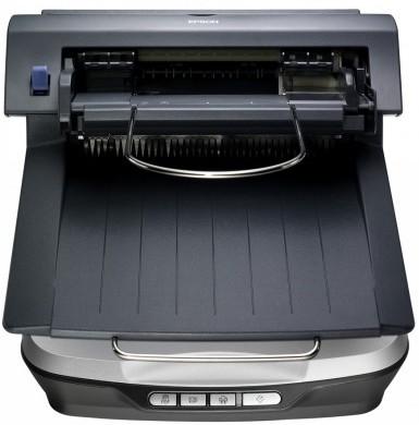 Szybki, łatwy w użyciu i energooszczędny skaner biurowy Epson Perfection V500 Office