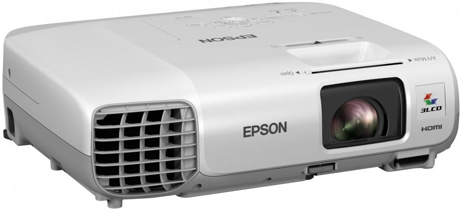 Epson esittelee toimisto- ja luokkakäyttöön tarkoitetut kannettavat projektorit