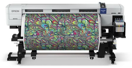 New dye sublimation printer for roll-to-roll textiles