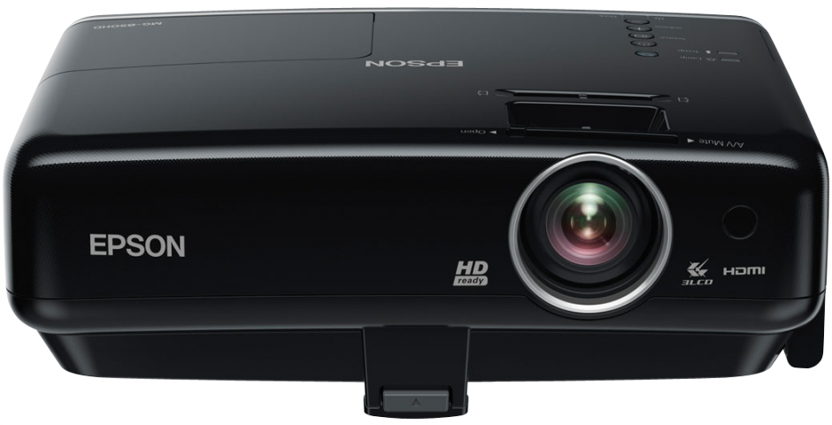 Eerste HD 3LCD-projector met iPod-dockingstation