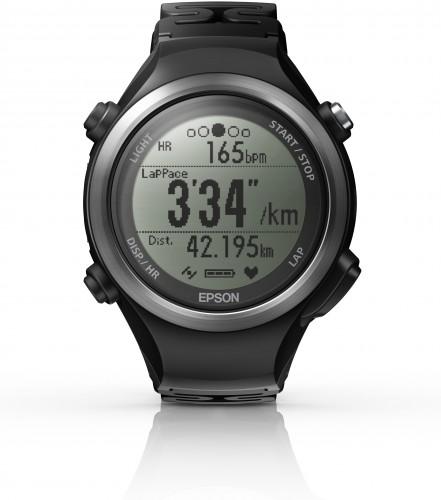 Epson GPS-Sportuhr mit Herzfrequenzmessung am Handgelenk