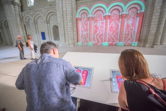 Epson lights up Fontevraud Abbey with its video projection solution