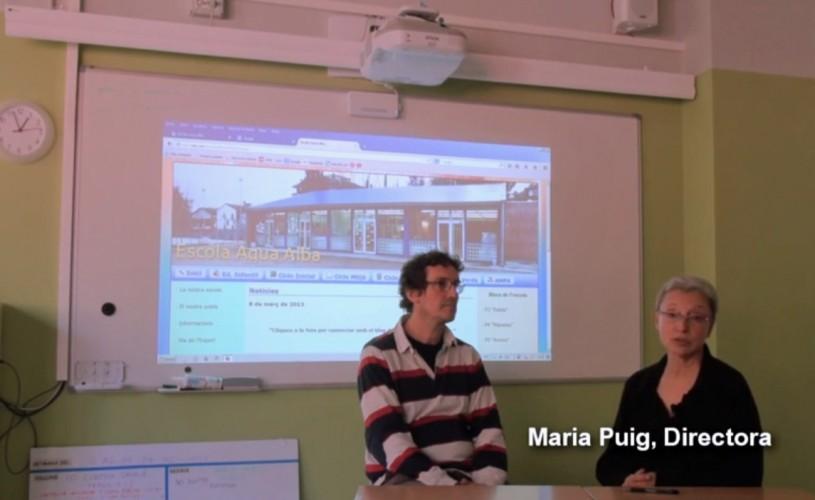 Tecnología que ayuda a aprender: proyección interactiva táctil