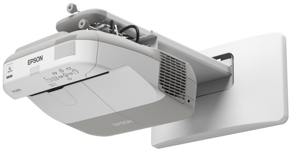 Interactieve Epson projector voor weergave bouwtekeningen bij Gemeente Oss