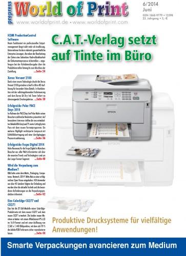 C.A.T.-Verlag setzt auf Tinte im Büro
