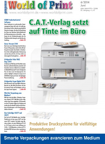 C.A.T.-Verlag chooses inkjet for its office