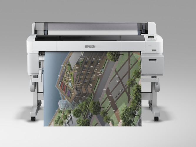 Epson Large Format Drucker in der TU Darmstadt