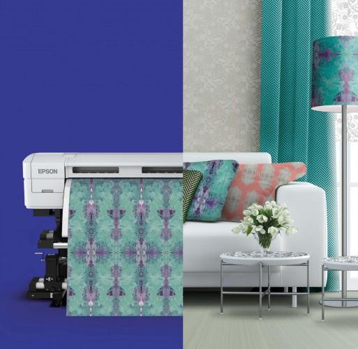 Epson mostra potencial da impressão têxtil direta e por sublimação na FESPA 2015