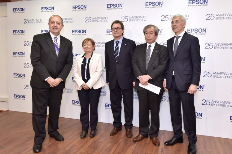Celebración del 25 aniversario de Epson Ibérica