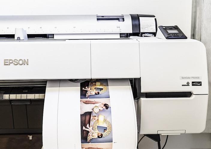Epson SureColor Drucker bewahren die Magie einer Hochzeit in High Definition