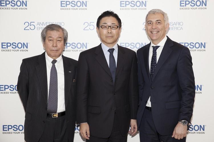 Epson Ibérica reúne a 200 invitados en la celebración del 25 Aniversario en Madrid
