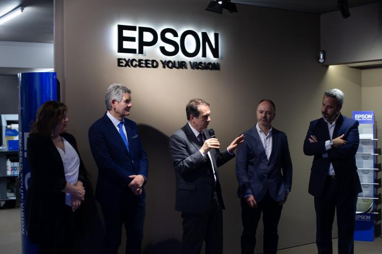 Epson lleva su innovación sostenible a Vigo, de la mano de Digipress