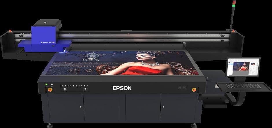 Epson presenta su primera impresora plana UV LED