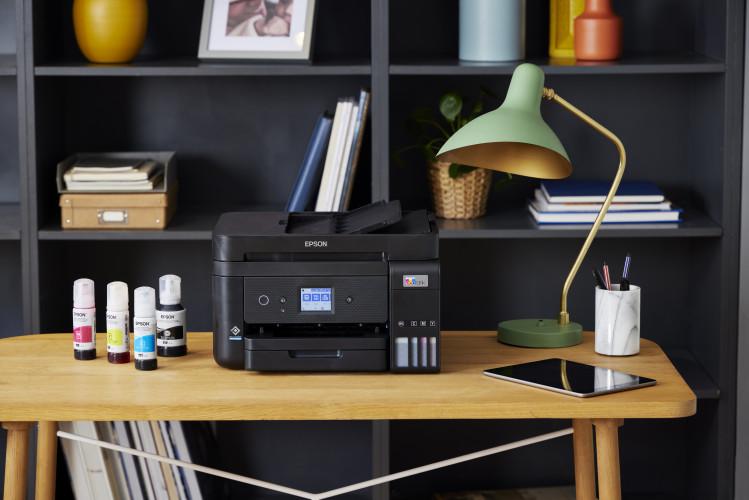 Epson vernieuwt zijn reeks bekroonde EcoTank-printers voor thuisgebruik en kleine kantoren
