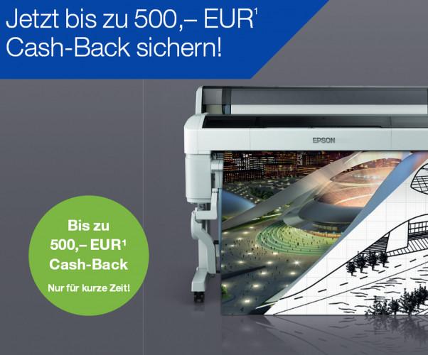 Epson gewährt Cash-Back für SureColor SC-T-Serie