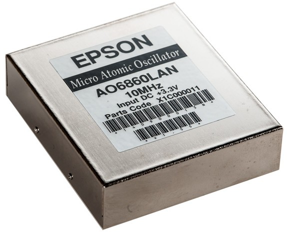 Epson anunță o nouă generație de oscilatoare atomice de dimensiuni reduse