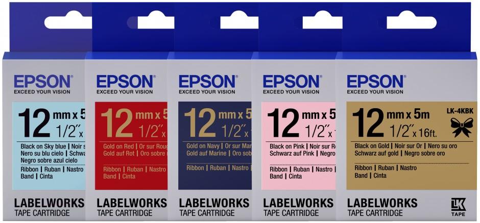 Epson Satin-Schleifenbänder für individuelle Verpackungen