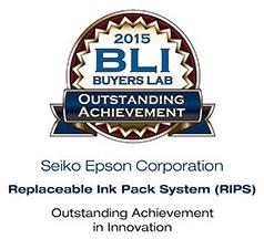 Tecnologia Epson RIPS galardoada nos Prémios de Inovação de BLI