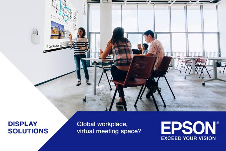 Global workplace, virtual meeting space?