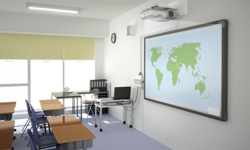 Wiedtal-Gymnasium setzt auf modernste Präsentationstechnik von Epson
