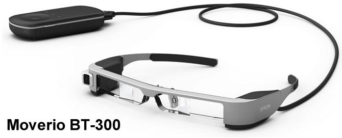 Epson wprowadza najlżejsze okulary OLED do rzeczywistości rozszerzonej –  Moverio BT-300