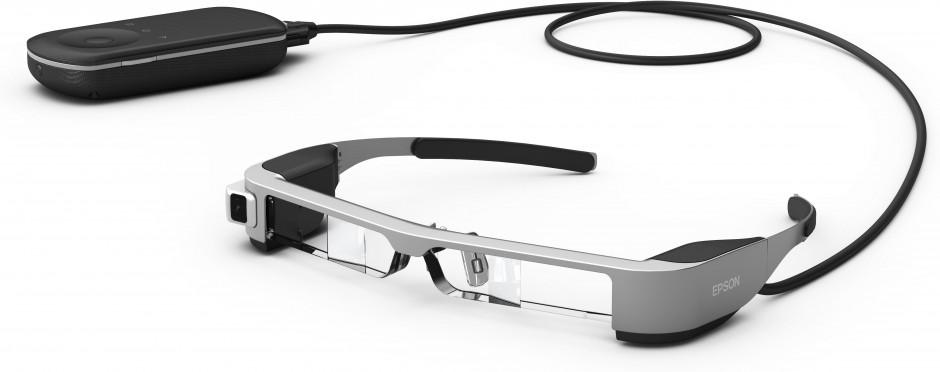 Epson anuncia las nuevas Moverio BT-300 con tecnología OLED: las smartglasses binoculares y transparentes más ligeras del mundo