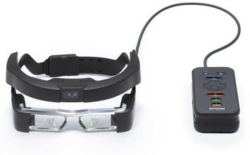 Nowy sposób patrzenia na świat Epson prezentuje inteligentne okulary Moverio na targach Photokina