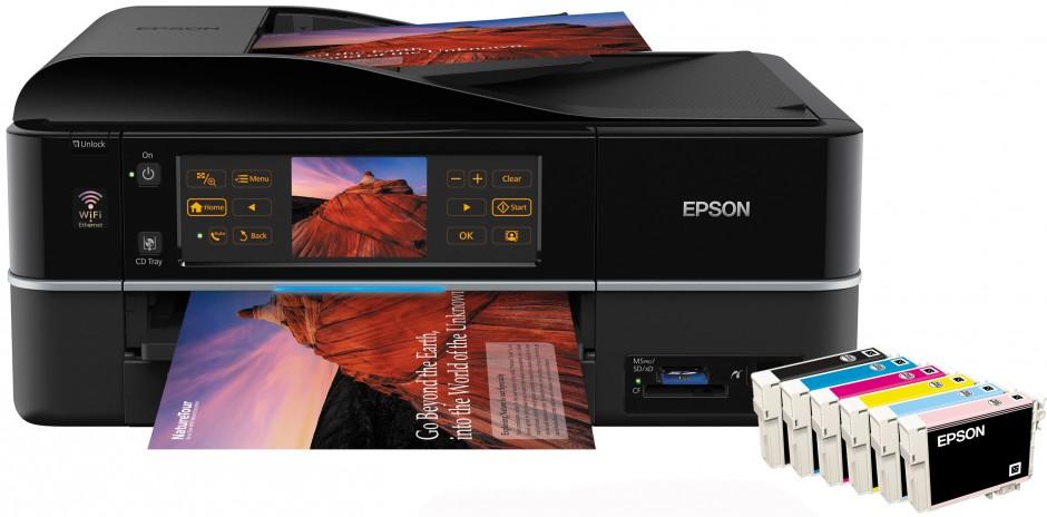 La solution multifonction 4 en-1 Epson® ultra-design conçue pour répondre aux besoins des particuliers les plus exigeants