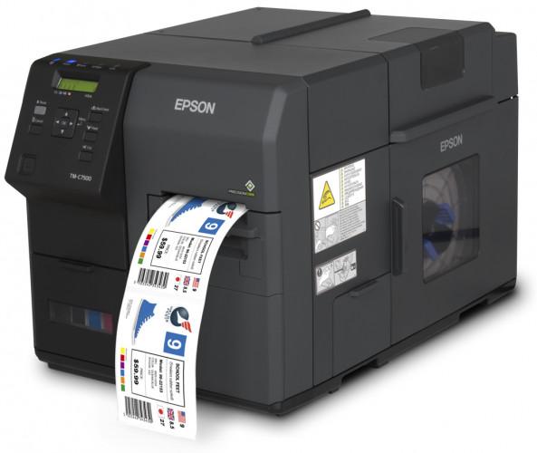 Epson introduceert industriële printer voor kleurenetiketten